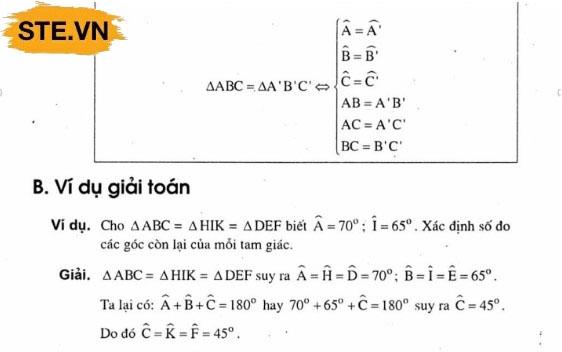 Ứng dụng hiệu ứng tam giác trong toán học