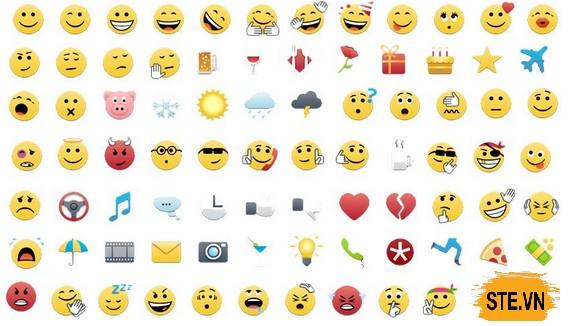Các biểu tượng mặt cười