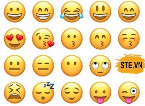 Nhiều biểu cảm khác nhau